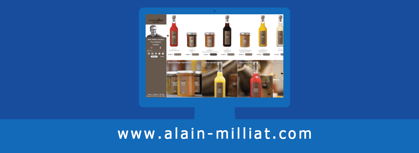 Alain Milliat eCommerce