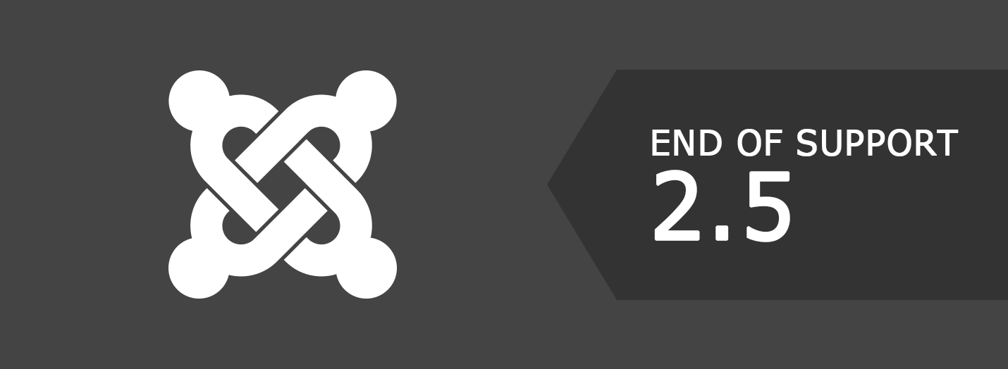 Joomla! 2.5 End of Support