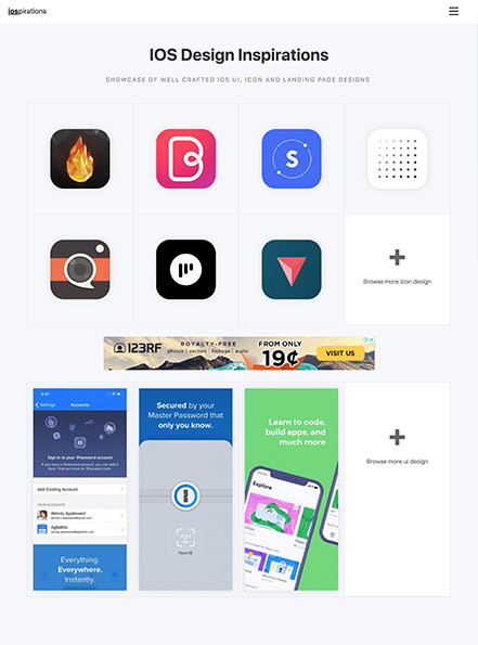 IOS Design Inspirations