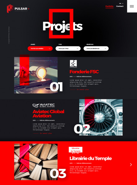 pulsar-projects