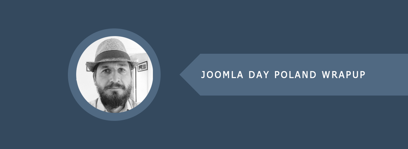 Joomla Day Poland Wrapup Banner