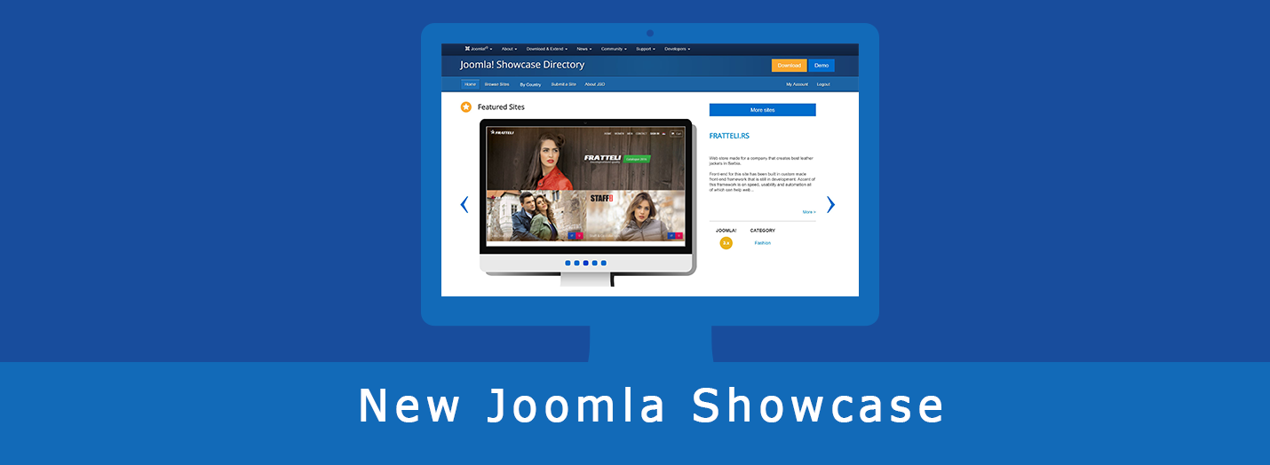 Joomla Showcase Blog