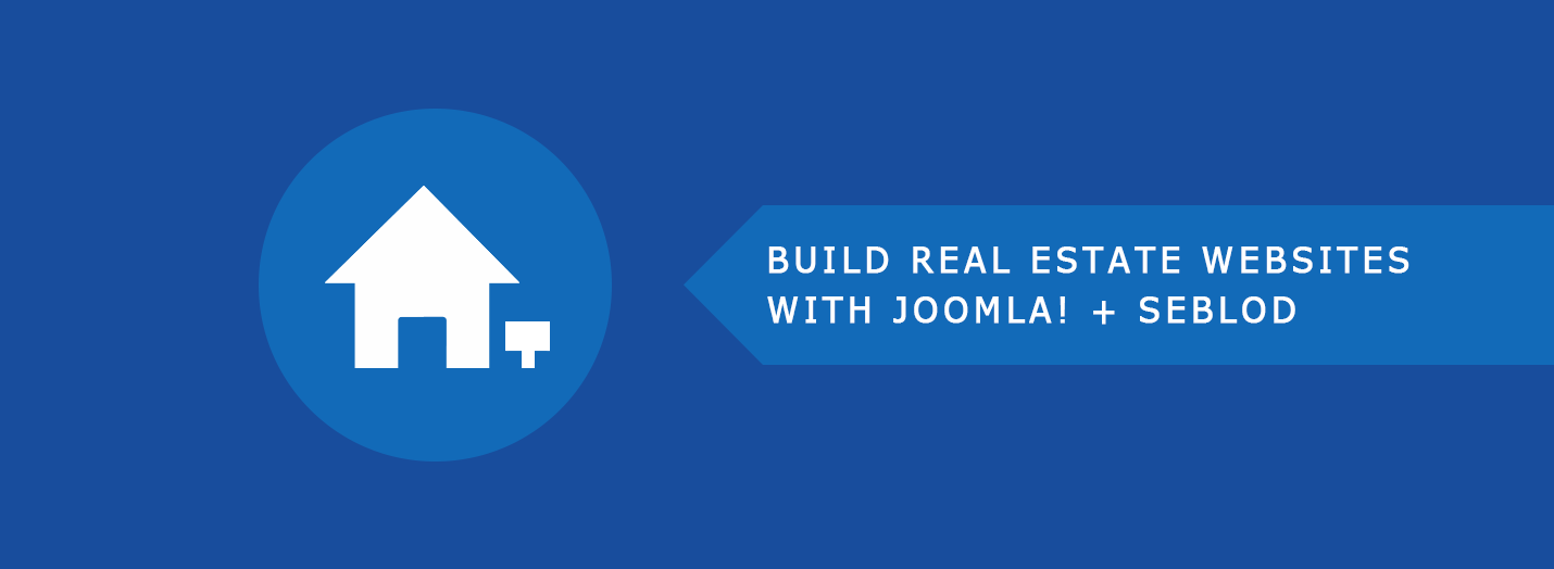 Real Estate Website with Joomla